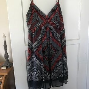 American eagle dress blue red white and green. 6
